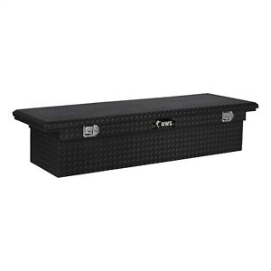 Uws Tbs 66 Lp Blk Low Profile Series Single Lid Crossover Tool Box