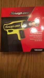 Snap On Butane Gas Blow Torch 300 In Yellow New
