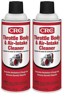 Crc 05078 Throttle Body Air Intake Cleaner 12 Oz 2 Pack