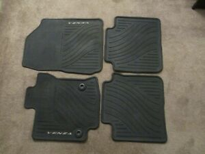 Used Oem Toyota Venza 2013 2014 All Weather Floor Mats 4 piece Set