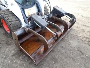 2018 Bobcat 74 Industrial Grapple Bucket For Skid Steers And Track Loaders