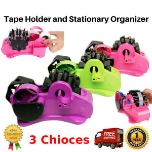 New Heavy Duty Packing Tape Dispenser Packing Cutting Sealing Holder Wf