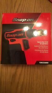 Snap On Butane Gas Blow Torch In Red New