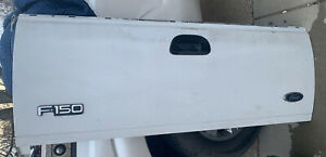 99 07 F250 F350 97 03 F150 Trunk Hatch Tailgate Ford Pickup White Oem