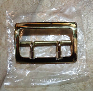 Solid Brass Buckle Fits 2 1 4 Sam Browne Duty Belts Security Police Military