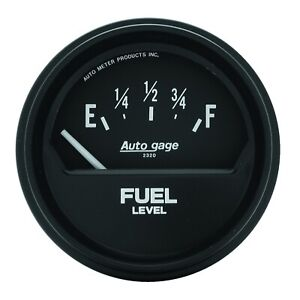 Autometer 2315 Autogage Fuel Level Gauge