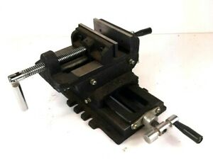 4 Two Way Cross Slide Vise Milling Holding Clamp Fabrication Machinining