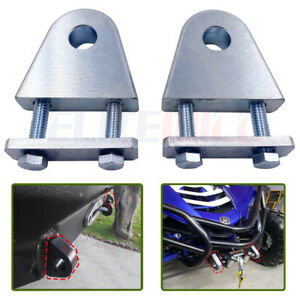 Heavy Duty Weld Bolt On D ring clevis shackle hydraulic off Road mount cnc atv