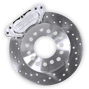 Aero Space Components Rear Race Brake Kit Big Bearing Ford Housing Ends Ac 510