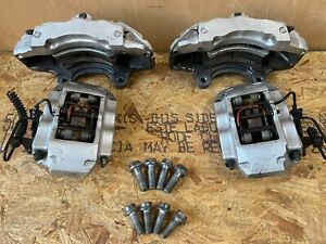 2004 2010 Audi Q7 Porsche Cayenne Brembo Brake Calipers 18z Set Front And Rear