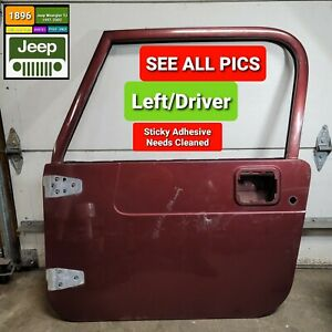 front Left Door Shell For 1997 2002 Jeep Wrangler Tj Oem free Shipping
