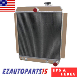 4 Row Radiator For 1947 1954 1949 50 Chevrolet Pickup Truck 3100 3600 3700 3800