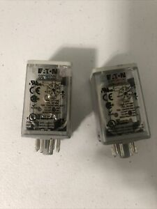 Eaton D3pf2at1 a2 Dpdt Octal Relay Coil 24 Vdc new Open Box jm 0399
