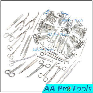 187 Pcs Canine feline Spay Pack Veterinary Surgical Instruments