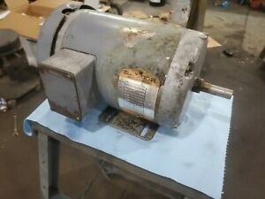 Baldor 575 Volt 2hp Electric Motor 5 8 Shaft