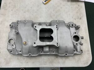 Offenhauser 360 Big Block Chevy Square Port Intake Manifold