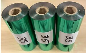 Kingsley Hot Stamp Stamping Foil Shiny Green 3 Rolls 3 X 90 free Shipping