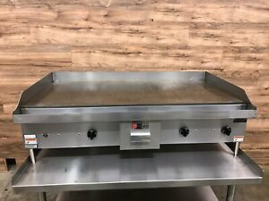 Wolf Weg48d 48 Commercial Electric Griddle 208 V Phase 3 1