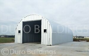 Durospan Steel 40 x40 x16 Metal Diy Building Garage Kit Workshop Factory Direct