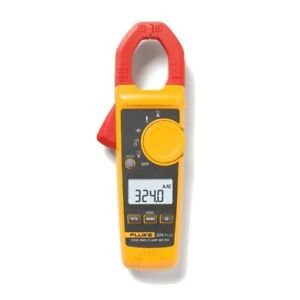Fluke 324 Plus Professional True Rms Ac dc Clamp Meter 772345 Temperature Volt