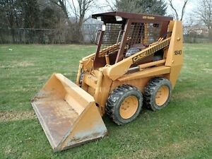Case 1840 Skid Steer Loader Orops Aux Hyd 54 Hp Pre emissions Local Trade