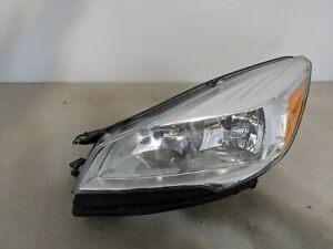 2013 2016 Ford Escape Headlight Left Driver Halogen Oem Free Shipping 12511