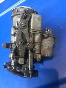ford Script Carburetor Stromberg Flathead Mercury Holley Model Ebu 2 Barrel
