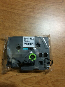 Tze 251 Black On White Label Tape For Brother P touch Pt 2310 24mm 1