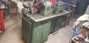 Wade 94 Precision Metal Lathe Turret 5c With Powered Collet Closer Single Phase