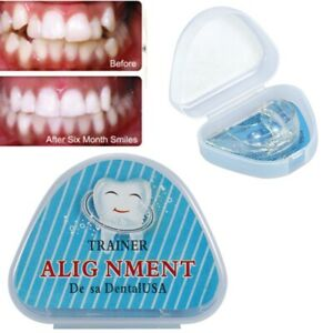 Teeth Alignment Trainer Teeth Retainer Orthodontic Brace Dental Mouth Guard Tray