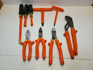 Cementex 1000v Insulated Nut Drivers Screwdriver Pliers T handled Hex Wrenches
