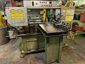 Hyd mech S 20a Horizontal Automatic Scissor Style Band Saw 13 X 18 Shuttle Tab