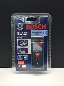 Bosch Glm 30 100ft Laser Measure New Free Shipping