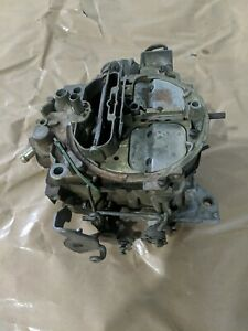 Olds Pontiac Quadrajet Rochester Carburetor 17058253 For Rebuild Stored Inside