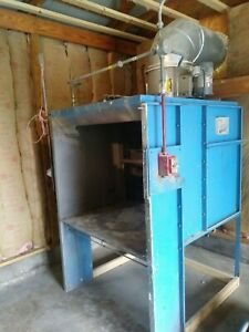 Paint Spray Booth For Sale used Bench Top Spray Booth