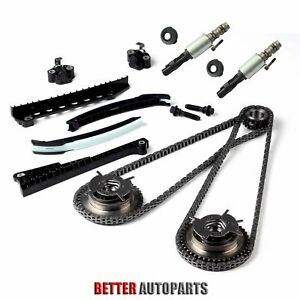 For 04 08 Ford F150 Lincoln 5 4l Triton Timing Chain Kit cam Phasers vvt Valves