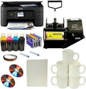 Dye Sublimation Ink Printer Cups Mugs Heat Transfer Press Transfer Paper Starup