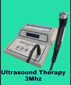 Ultrasound Therapy Device 3 Mhz Frequency Lcd Machine Pain Management