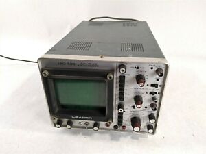 Leader Lbo 505 Dual Trace Oscilloscope Industrial Adjustable Mechanical Unit