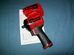 New Snap On 3 8 Drive Super Duty Stubby Air Impact Wrench Pt338 Open Box