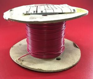 Awc Bn20 19 Mil Spec M16878 17 bge2 50ft Spool 20awg Red Circuit Lead