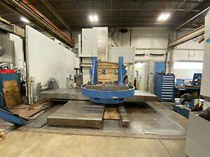 Cnc Union Horizontal Boring 2001 5 1 Spindle Cat 50 Tbl 83 79 W X Y Z B