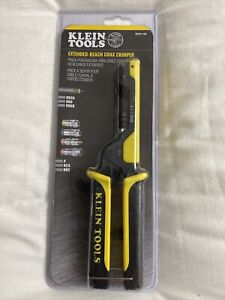 New Klein Tools Vdv211 100 Extended Reach Coax Crimper Brand New Sealed