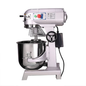 30l Commercial Dough Food Mixer 3 Speed Dough Blender Food Processor