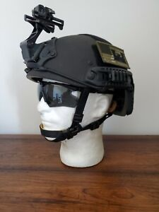 DH132B BALLISTIC HIGH CUT SOHAH HELMET LVL IIIA CVC OPS CORE US MILITARY SEALS M $500.00