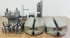 Lot Of Machinist Tools Grinding Fixtures Grinding Risers Diamond Tools