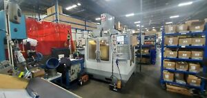 Used 2008 Haas Vf 2ss Cnc Vertical Machining Center Mill 30x20 12k Rpm 30hp Ct40