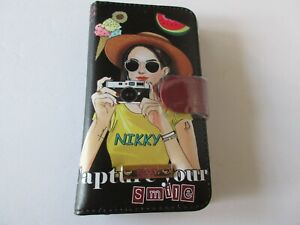 Nikky By Nicole Lee Universal Adjustable Cell Phone Case Capture Your Smile $21.00