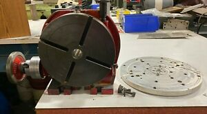 Troyke 9 Horizontal Vertical Rotary Table u 9 With Aluminum Tooling Plate