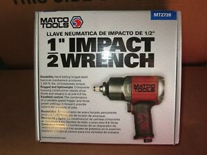 Matco 1 2 Impact Wrench Mt2739 New 1250 Ft Lbs Torque W Owner Manual